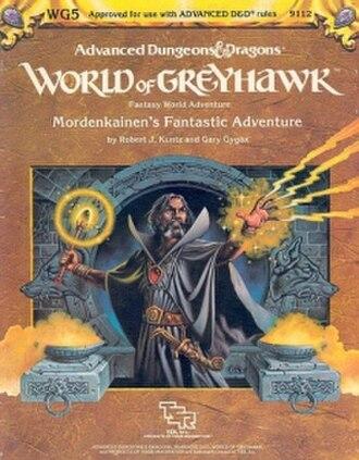 Mordenkainen - Image: WG5Mordenkainen Fantastic Adventure Cover