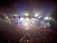 An attendance record setting 68,237 fans at the SkyDome for WrestleMania X8