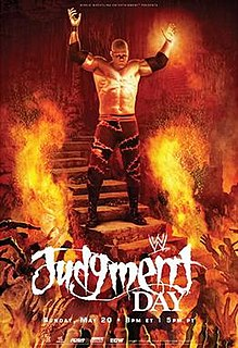 Judgment Day (2007) 2007 World Wrestling Entertainment pay-per-view event