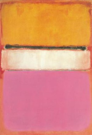 Collecting practices of the Al-Thani Family - Mark Rothko, White Center (Yellow, Pink and Lavender on Rose)