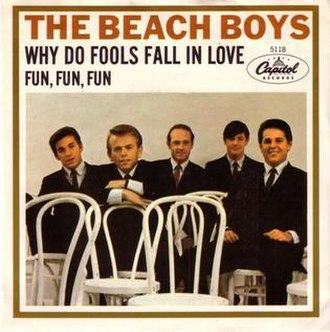 Why Do Fools Fall in Love (song) - Image: Why Do Fools Fall in Love Beach Boys