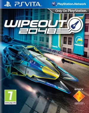 Wipeout 2048 - European cover art