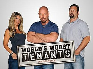World's Worst Tenants - Randye Howard, Todd Howard and Rick Moore (from left)