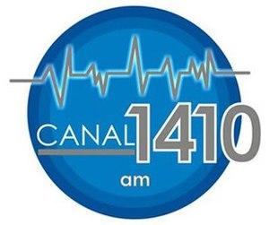 XEKB-AM - Image: XEKB Canal 1410 logo