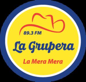 XHNP-FM - Image: XHNP La Mera Mera 89.3 logo
