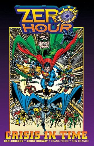 Zero Hour: Crisis in Time! - Cover of Zero Hour: Crisis in Time trade paperback Art by Dan Jurgens
