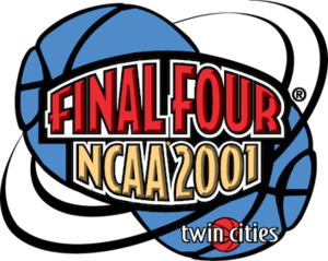 2001 NCAA Division I Men's Basketball Tournament - 2001 Final Four logo
