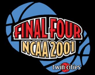 2001 NCAA Division I Men's Basketball Tournament - 2001 Final Four logo