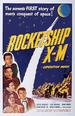 Rocketship X-M - Theatrical release poster