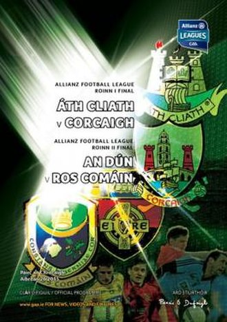 2015 National Football League (Ireland) - Image: 2015 National Football League (Ireland) finals programme
