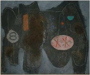 Weldon Kees - 8XX, oil on canvas, Weldon Kees, 1949