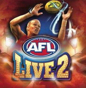 AFL Live 2 - Cover art