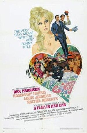 A Flea in Her Ear (film) - Image: A Flea In Her Ear 1968Poster