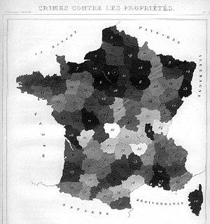 André-Michel Guerry - Image: AM Guerry carte 2 low