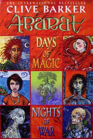Days of Magic, Nights of War - Cover of the first edition copy of Days of Magic Nights of War.