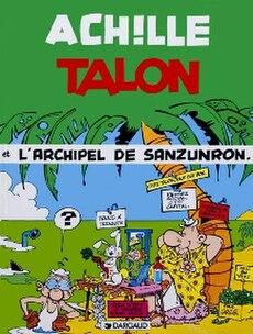 Cover of L'Archipel de Sanzunron (The Notapenny Archipelago)