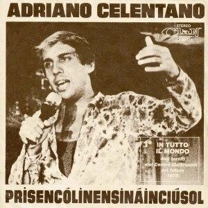 Prisencolinensinainciusol - Image: Adriano Celentano Prisencolinensinainc iusol (cover)