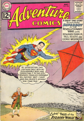 Adventure Comics - Image: Adventure 296