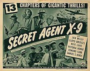 Secret Agent X-9 (1945) Movie Poster