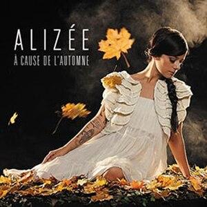À cause de l'automne - Image: Alizée A cause de l'automne cover art version 2