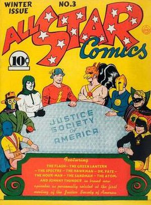 Justice Society of America - Image: All Star 3