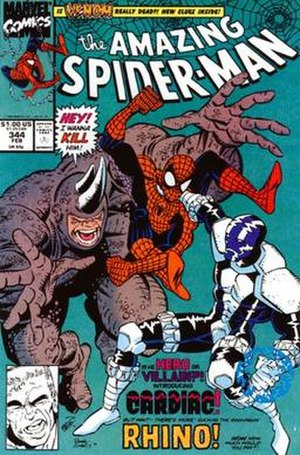 Cardiac (comics) - Image: Amazing Spider Man Vol 1 344