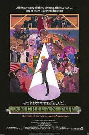 American Pop - Theatrical release poster