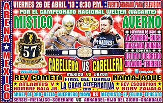 Arena México 57th Anniversary Show Mexican professional wrestling supercard show