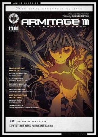 Armitage III - Image: Armitage III cover art (Funimation)