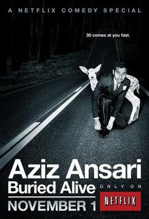 Aziz Ansari: Buried Alive - Image: Aziz Ansari Buried Alive