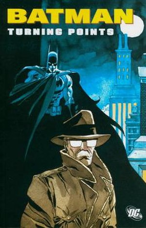 Batman: Turning Points - Cover of Batman: Turning Points trade paperback Art by Tim Sale