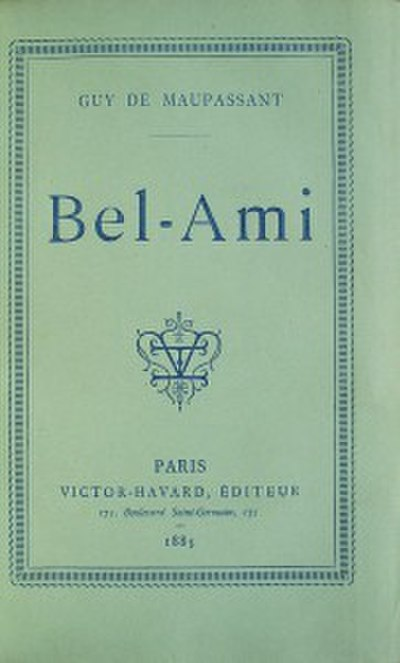Picture of a book: Bel Ami