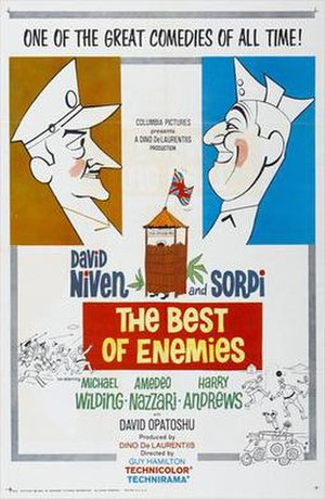 The Best of Enemies - Original film poster