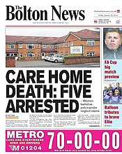 Bolton Evening News front page.jpg