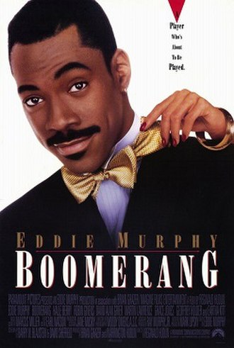 Boomerang (1992 film) - Theatrical release poster