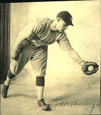 Joe Buskey - Joe Buskey playing for the Bradenton Growers in 1923