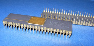 Intel MCS-96 - An Intel C8095 in ceramic DIP-48 package