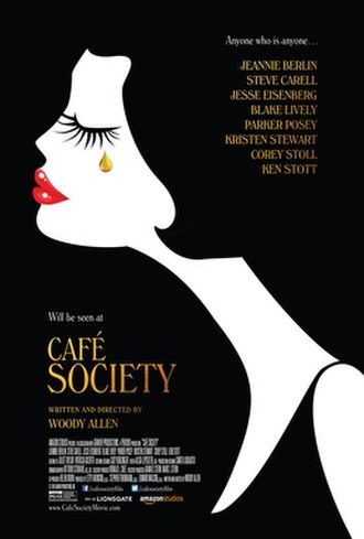 Café Society (2016 film) - Image: Cafe Society