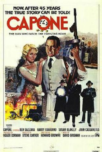 Capone (film) - Theatrical release poster