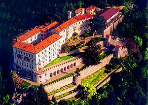 CastelBrando - Image: Castelbrando Aerial View