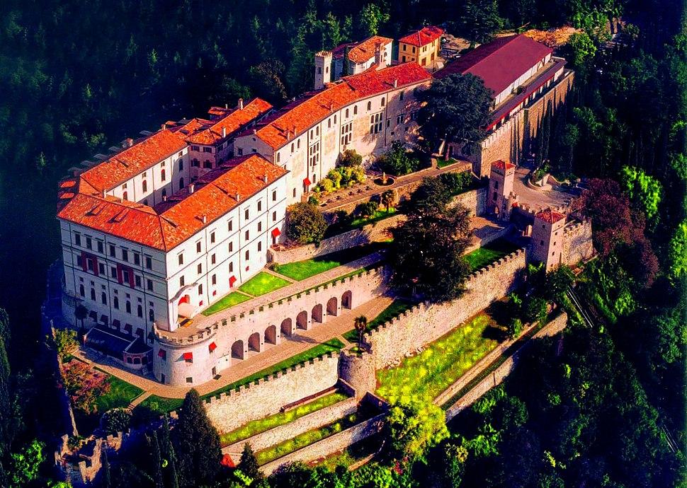 Castelbrando Aerial View