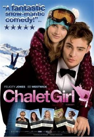 Chalet Girl - Theatrical release poster