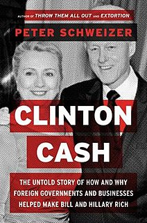 <i>Clinton Cash</i> book by Peter Schweizer