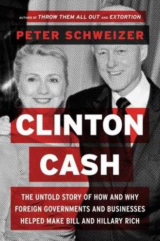 Clinton Cash - Image: Clinton Cash cover