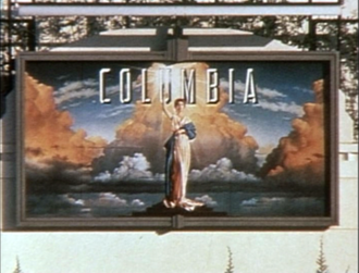 Columbia Pictures - Columbia Pictures painting on the outer wall of Sony Pictures Studios after the 1993 change.