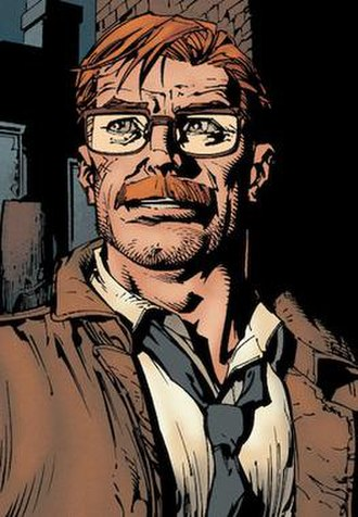 James Gordon (comics) - Image: Commissioner James Gordon