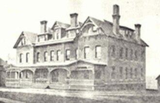 Nichols College - Photograph of Conant Hall circa 1838