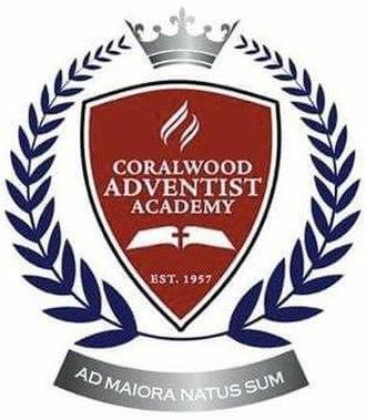 Coralwood Adventist Academy - Image: Coralwood Adventist Academy logo