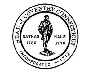 Coventry, Connecticut - Image: Coventry C Tseal