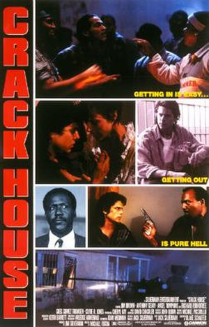 Crack House (film) - Theatrical release poster